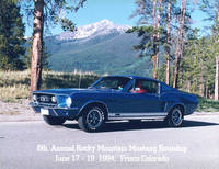 Highlight for album: 1967 GT Fastback ACAPULCO BLUE  SOLD!