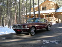 Highlight for album: 1967 Fastback Vintage Burgundy!  SOLD!
