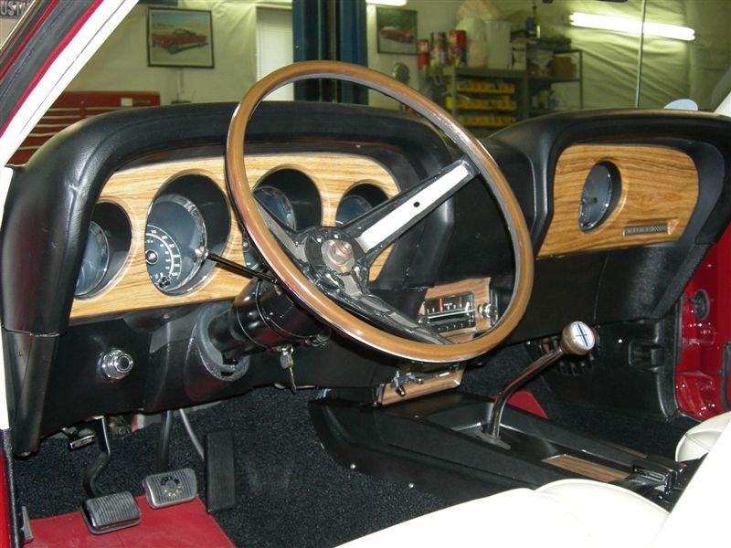 Tilt Away Steering Wheel restored by Rimblow Buddy, Dave Prine.