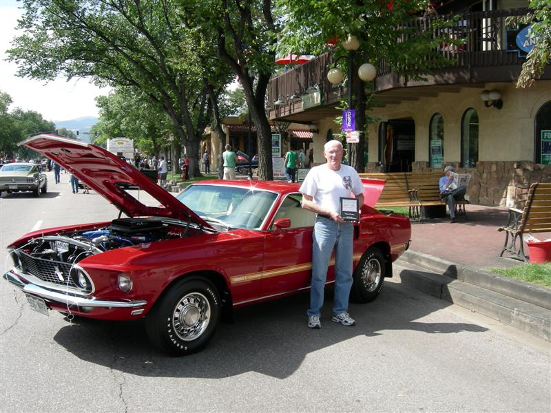 My first Judged Car Show win 8/20/06. Many people just loved the car, I think I was grinning all day.