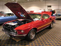 Highlight for album: 1969 Mach 1, Candy Apple Red SOLD!