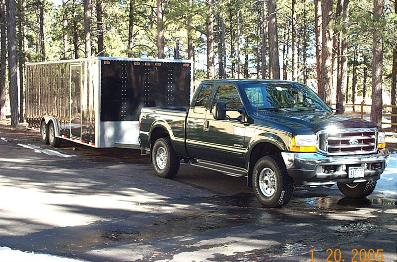 Ford F250 Superduty, Extended Cab, Powerstroke. Tow Package, Off Road Package and Camper Package
